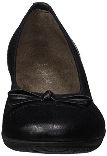 Softline 22168, Ballerines Pour Femmes Noir (noir)