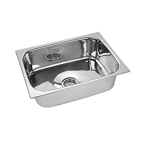 Spartan KS 4803 Steel 1Mm Thick Stainless Steel Sink (Silver)