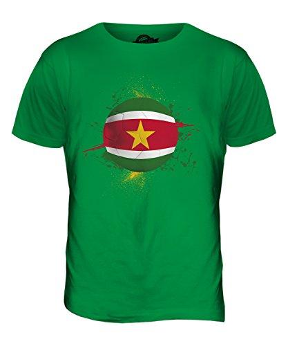 CandyMix Suriname Fußball Herren T Shirt Grün
