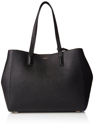 DKNY Damen Tote, Schwarz (Black), 15.24 x 27.94 x 38.1 cm (Shopper Damen Dkny)