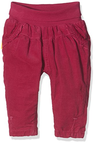 Steiff Collection Mädchen Hose Hose Cord, Gr. 74, Rot (sangria 2031)
