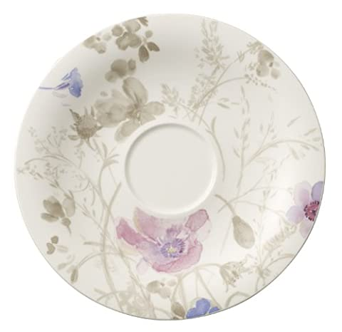 Villeroy & Boch Mariefleur Gris 1041041250 19 cm Saucer Breakfast Cup