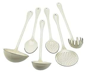 Nigella Lawson Living Kitchen Utensils Set/6 Cream