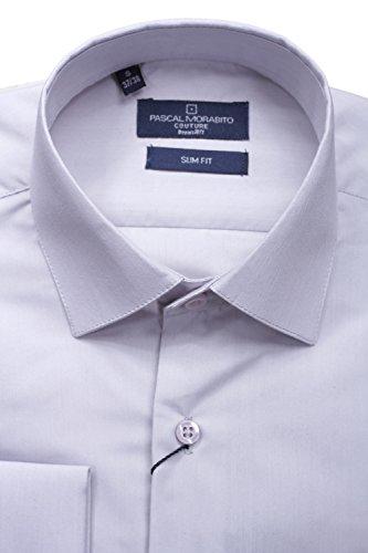 Leader Mode - Chemise habillée Mrt021 Gris Gris