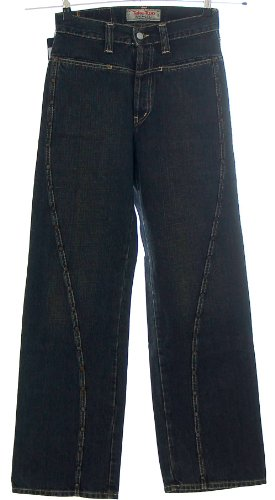 Take Two Jeans pantaloni ribadini Straight Leg zozzo Denim LEY