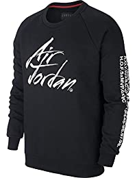 Nike Jordan Jumpman Greatest Fleece - Talla M - Sudadera para Hombre - Color Negro