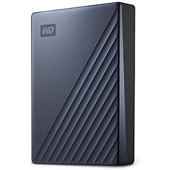 WD My Passport Ultra - Disco Duro portátil de 4 TB y USB Tipo C,