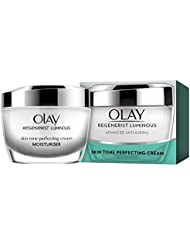 Olay Regenerist Luminous Anti-Ageing Skin Tone Perfecting Moisturiser for Youthful Luminosity and Even Skin Tone, 50 ml