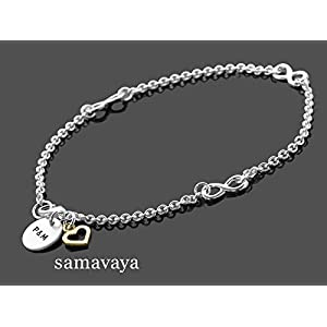 Armband mit Gravur TOGETHERNESS HEART 925 Silber Armband Infinity Herz Partnerschmuck