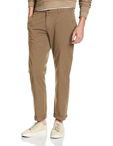 Gant Regular Comfort Chino-Pantaloni Uomo    Beige (Khaki Beige) W36/L34