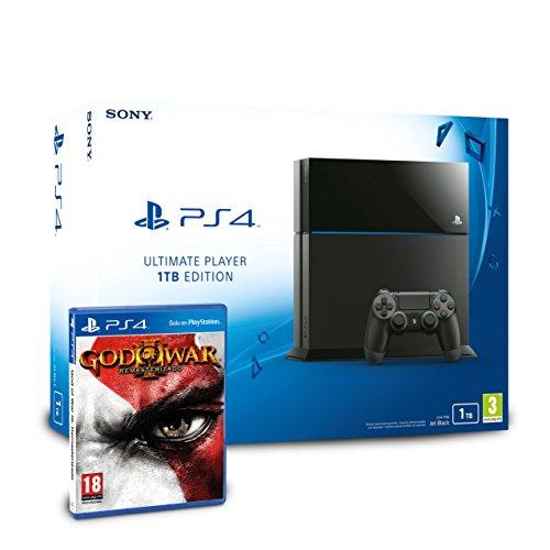 PlayStation 4 - Consola 1TB + God of War 3 - Remasterizado