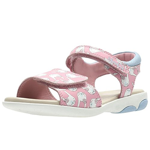 Clarks  Nibbleshop Inf, Mädchen Sport- & Outdoor Sandalen rosa rose, rosa - rose - Größe: 44 EU F UK Kinder