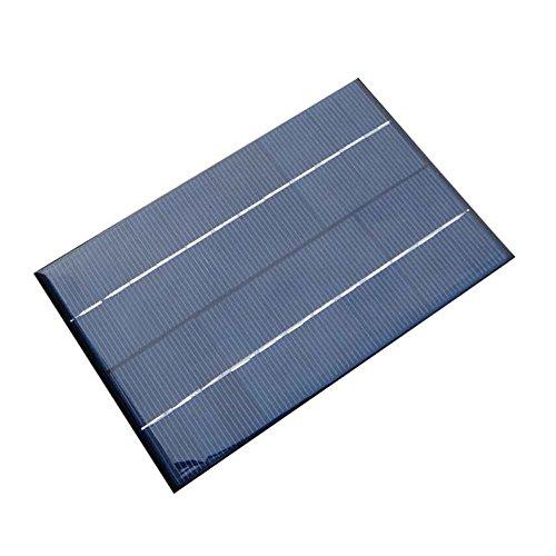 Preisvergleich Produktbild Janecrafts 1 Stück 4.2W 12V Solarpanel Polykristallin Solar Power Panel-Solar System DIY für Handy-Ladegeräte Tragbare