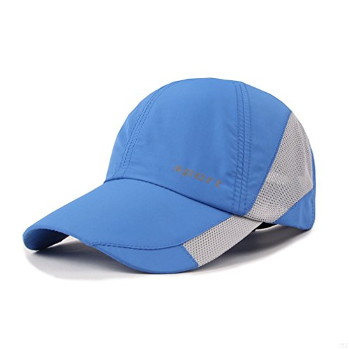Bomber Classic Hut (Lightweight Run Baseball Hat Outdoor Sport cap (Sport Series, Blue))