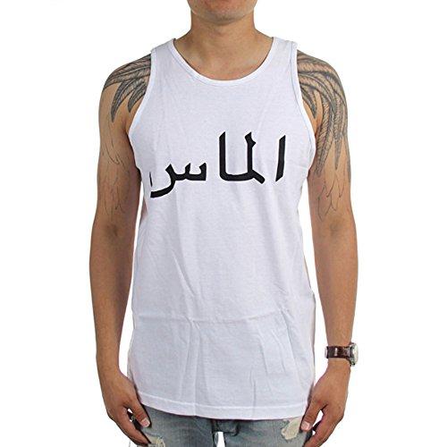 Diamond Supply Co. Men's Arabic Tank Top Shirt White XL