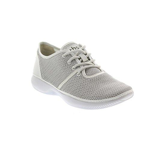 TBS Jannice, Blanc + Galet, Textil / Leder,ultraleicht R7B73 Weiß
