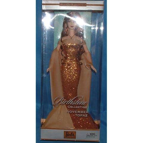 Barbie collezione, con pietra zodiacale del mese di novembre