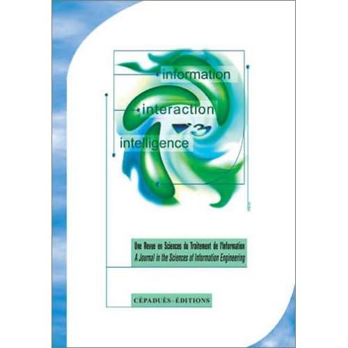 Information Interaction Intelligence Vol. 4, n°2, 2004