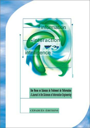 Information Interaction Intelligence Vol. 4, n°2, 2004