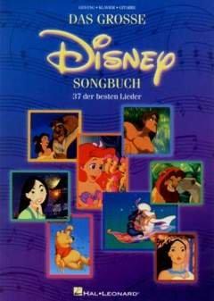 Preisvergleich Produktbild DAS GROSSE DISNEY SONGBUCH - arrangiert für Songbook [Noten / Sheetmusic]