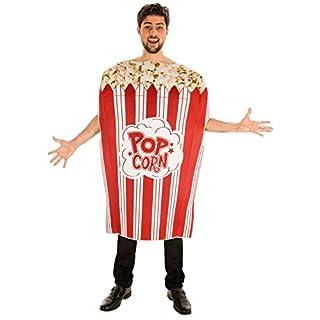 Chaks C4233, Kostüm Pop Corn Erwachsene