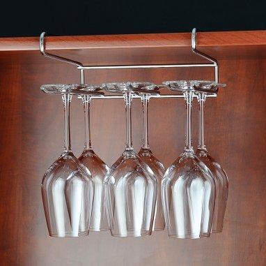 chiodo-sospensione libera porta bicchiere in acciaio inox bicchiere da vino appeso stemware rack