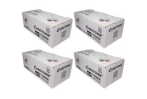 Preisvergleich Produktbild 4x Eurotone Toner Kartuschen für Kyocera FS 4100 D / DN - ersetzen TK-3110 Patronen - kompatible XXL Premium Alternative - non oem