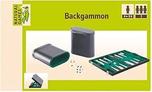 VEDES Großhandel GmbH - Ware 61096086Natural Games Backgammon Piel sintética 47, Multicolor