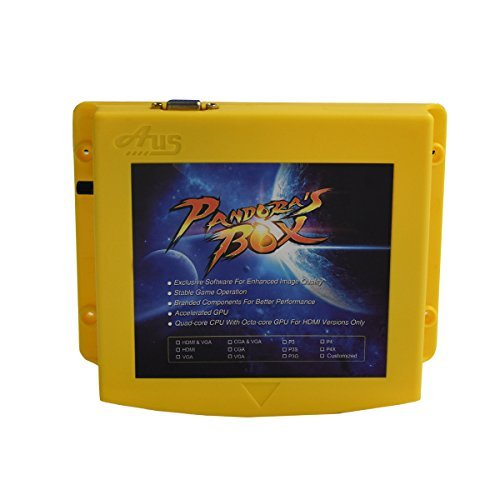 Handbuch-board ([Englisch] Pandora's Box 5S 999 in 1 Multi-Spiel Jamma Board VGA-Ausgang - Arcade Machine Jamma Zubehör DIY Kit Unterstützung LCD und CRT)