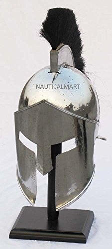 King Leonidas Spartan 300 Helmet Medieval Roman Greek Armor Halloween Costume by ()