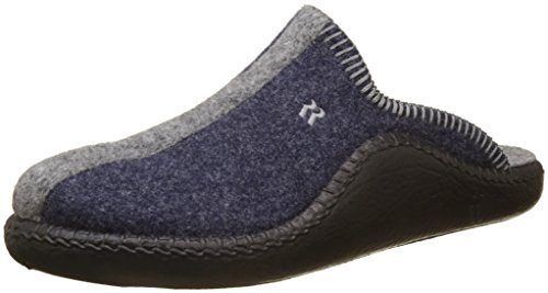 Romika Mokasso 62, Unisex-Erwachsene Pantoffeln, Blau (Jeans-kombi 541), 40 EU