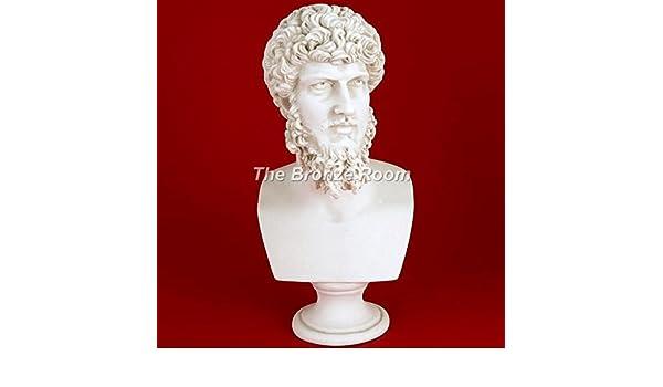 LUCIO VERO Marmo di Carrara busto