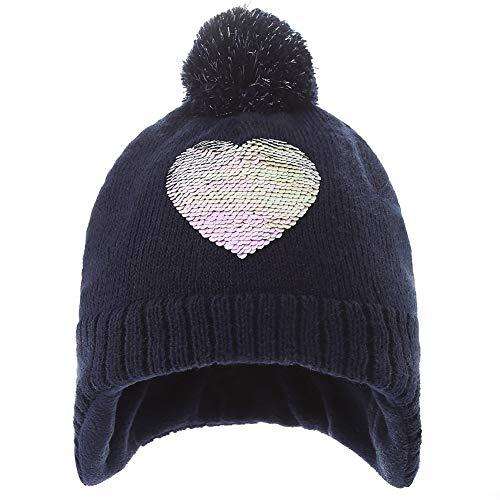 AHAHA Bonnet Filles Hiver Pompon Chapeaux Tricotés...