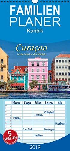 Curaçao - bunte Insel in der Karibik - Familienplaner hoch (Wandkalender 2019 , 21 cm x 45 cm, hoch): Der blaue Likör hat diese traumhafte Insel ... (Monatskalender, 14 Seiten ) (CALVENDO Natur) (Die Korallen Insel)