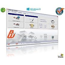 BARCODE WORLD Professionale SOFTWARE Programma ddi creazione e stampa etichette, codici a barre, codice a barre, barcode