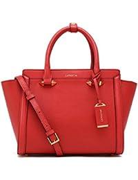 LA'FESTIN Brand Genuine Leather Bag For Women 2017 Fashion Top Handle Handbags