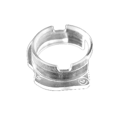 BisLinks® Vordere Kamera Kunststoff Kappe Dichtung Halterung Ring Teil Für iPhone 6 Replacement Front Lens Cap