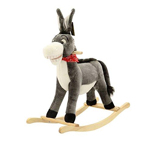 Plüsch Schaukelpferd Kinder Baby Spielzeug Klein Aus Holz Für Kind Kind  Jungen Und Mädchen Kinderzimmer Pferd Schaukel Schaukelstuhl Netter Esel