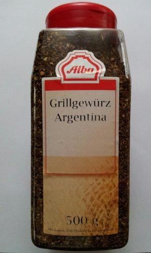 Alba Gewürze Grillgewürz Argentina 500g. Dose
