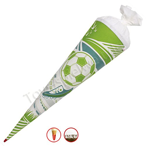 Roth Schultüte Soft Touch Play Off 70 cm Zuckertüte Einschulung Fußball Kinder