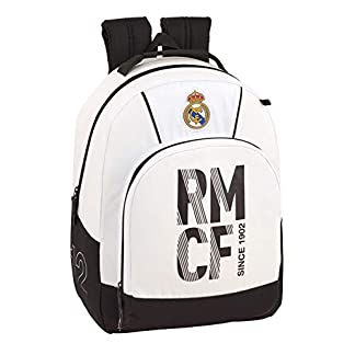 41V9isKkEJL. SS324  - Real madrid cf Mochila Adaptable a Carro con protección Inferior.