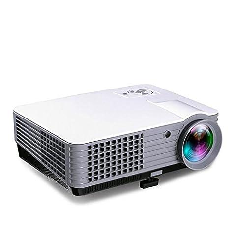 Projektoren Video Projektor 1800 Lumen Unterstützung 1080P Portable PC Laptop Full HD Portable Handheld Projektor Handheld Parteien Gaming Clubs