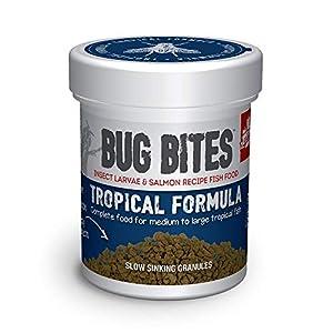 Fluval Big Bites Tropical Granule Fish Food 45g