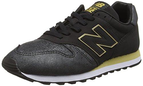 New Balance WL373NG-373, Zapatillas de Running para Mujer, Negro (Black 001), 37 EU