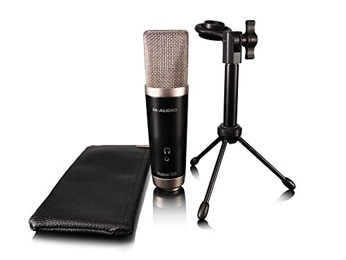 M-Audio Vocal Studio, Set di registrazione completo con microfono Producer USB e Software Ignite di AIR