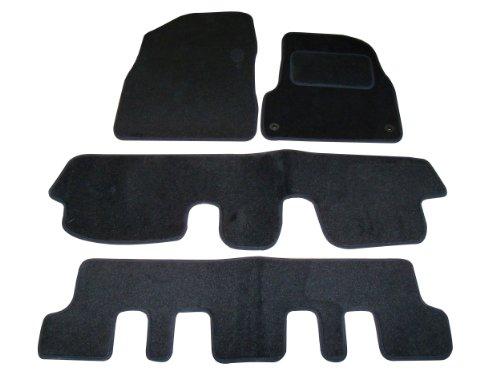 Sakura Car Mats for Citroen C4 Picasso Fits 2007 to 2011 Models - Black