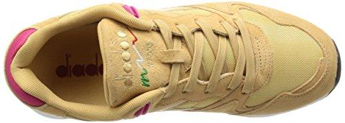 diadora V7000 NYL II Schuhe Herren Sneaker Turnschuhe Pink 501.170939 01 C6309 Beige Juta / Rosa Brillante