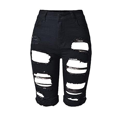 Byjia Pantalons Déchirés Et Mûrs Pour Femmes Pantalons Sexy Sexy