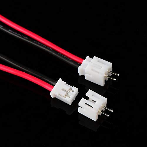 2 x 20 ARCOBALENO Wire del cavo maschio 2 Maschio DuPont Pcb computer Fai da Te Connettore 20 cm UK