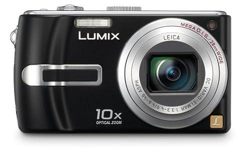 Panasonic Lumix DMC TZ3EF-K Appareil photo numérique 7,2 Mpix zoom optique 10x stabilisé grand angle 28mm Noir